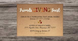 friendsgiving invitation friendsgiving feast friendsgiving