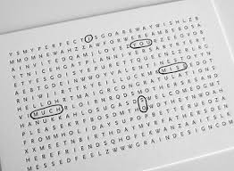 home sweet word search birthday card tutorial