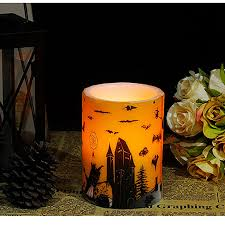 halloween candels halloween candle decoration led candela et chandelles znicz