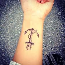 awesome wrist anchor tattoo design photos pictures and sketches
