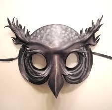 leather masquerade masks spirit owl leather mask by teonova on deviantart