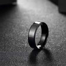 titanium men minimalist titanium band men men s ring evermarker