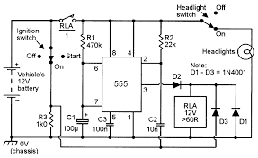 sequential bar graph turn light indicator circuit for car led