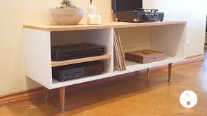 Media Console Tables by Diy Mid Century Modern Console Table Modern Builds Ep 6 Youtube