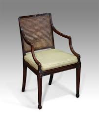 antique caned arm chair bergere library chair antique armchair