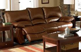 Stylish Recliner Leather Sofa With Recliner And Ashley