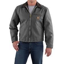 carhartt sandstone detroit jacket for tall men