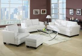 Acme Living Room Furniture by Acme Platinum White Sofa Set Sofa Loveseat Chair Contemporary