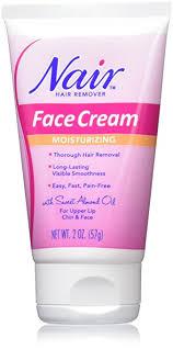 amazon com nair hair remover moisturizing face cream hair