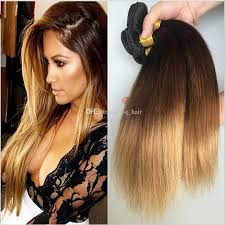 honey weave cheap honey ombre silky human hair weaves 3 tone