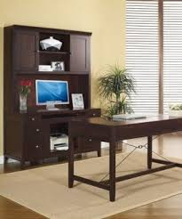 executive desk and credenza foter