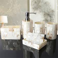 mirrored bathroom accessories bathroom accessories sets can prettify the room atlart com
