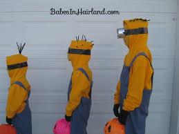 minion halloween costumes in hairland