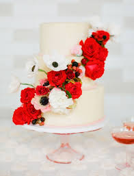 Our Wedding Day Sassy Red by The 25 Prettiest Wedding Cakes We U0027ve Ever Seen