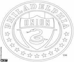 Usa Coloring Pages Emblems Of Mls Major League Soccer Football Chionship In Usa by Usa Coloring Pages