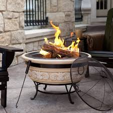 Patio Fire Pit Propane Portable Outdoor Fire Pit Is Ideal Option Design Remodeling