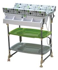 Baby Change Table With Bath Nanny Easy Peasy Changing Unit Bath And Change Table