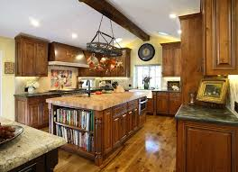 sumptuous knotty alder cabinets trend chicago rustic kitchen