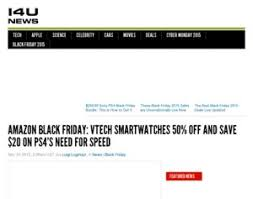 amazon black friday smart watches vtech amazon black friday vtech smartwatches 50 off and save