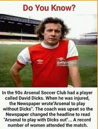 Sports Memes - david dick 1990s arsenal football club sports memes whatsapp bin
