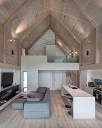 wood interior homes spacious lakeside metal houses w cosy wooden interior 9 hq