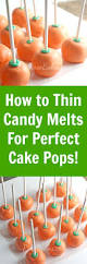 how to thin wilton candy melts for perfect cake pops candy melts