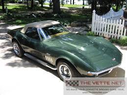 1969 convertible corvette thevettenet com 1969 convertible corvette details
