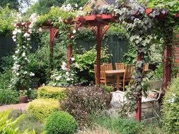pergola with vines interiors design