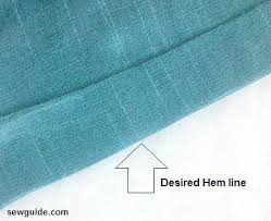 How To Do Blind Hem Stitch By Hand Blind Stitch The Hem Of A Pants By Hand And By Machine Sew Guide