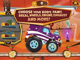 superheroes trucks car garage monster build a truck