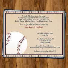 baby shower sports invitations for boy appealing sports themed baby shower invitation card template with