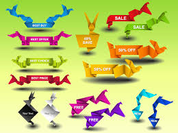 ribbons for sale sale ribbon graphics vector graphics freevector