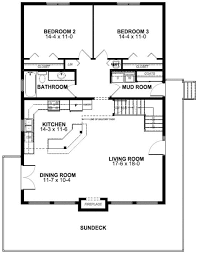 A Frame Plans First Floor Plan Of A Frame Vacation House Plan 99961 Wow