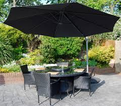 Patio Table Parasol by Garden Cube Or Garden Sofa Sets 150 Off Cantilever Parasol
