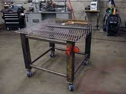 Welding Table Plans by 78 Best Welding Workbench Images On Pinterest Metal Working