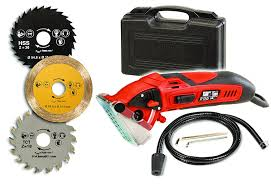 rotorazer multi purpose circular mini saw with 3 interchangeable