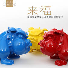 home decor objects aliexpress com buy resin french bulldog dog figurines vintage