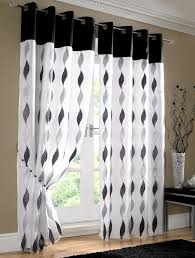 Curtains Black And Red Peak Of Interior Designing Black And White Curtains