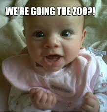 Cute Baby Meme - we re going the zoo