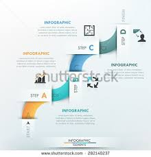 abstract arrow business infographics template vector stock vector