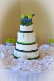 wedding cake green blue and green wedding cake atdisability