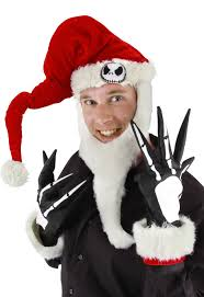 nightmare before christmas costumes skellington santa kit nightmare before christmas costumes