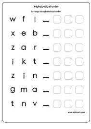 alphabetical order worksheets english alphabets worksheet