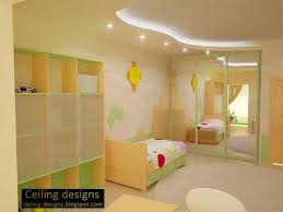 Nursery Ceiling Decor Curved False Ceiling Design For Room Ceiling Designs