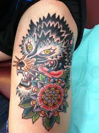 forearm wolf tattoos wolf head tattoo on u0027s forearm