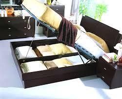 Platform Bed With Storage Amazing Beds With Storage Underneath U2014 Modern Storage Twin Bed