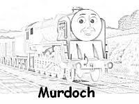 murdoch coloring pages free to download and color thomas the train