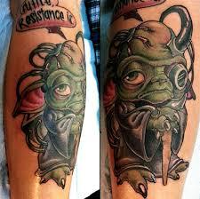 futile resistance is borg yoda tattoo neatorama