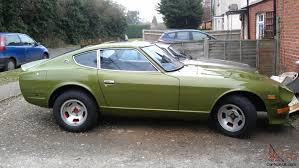 classic datsun datsun 240z classic sports car 2 door 1973 l avocado green