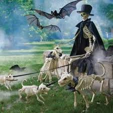 Halloween Skeleton Dog Decoration by Outdoor Halloween Decorations Skeleton Dogs And Haunted House